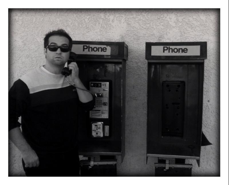 Brian at Payphones